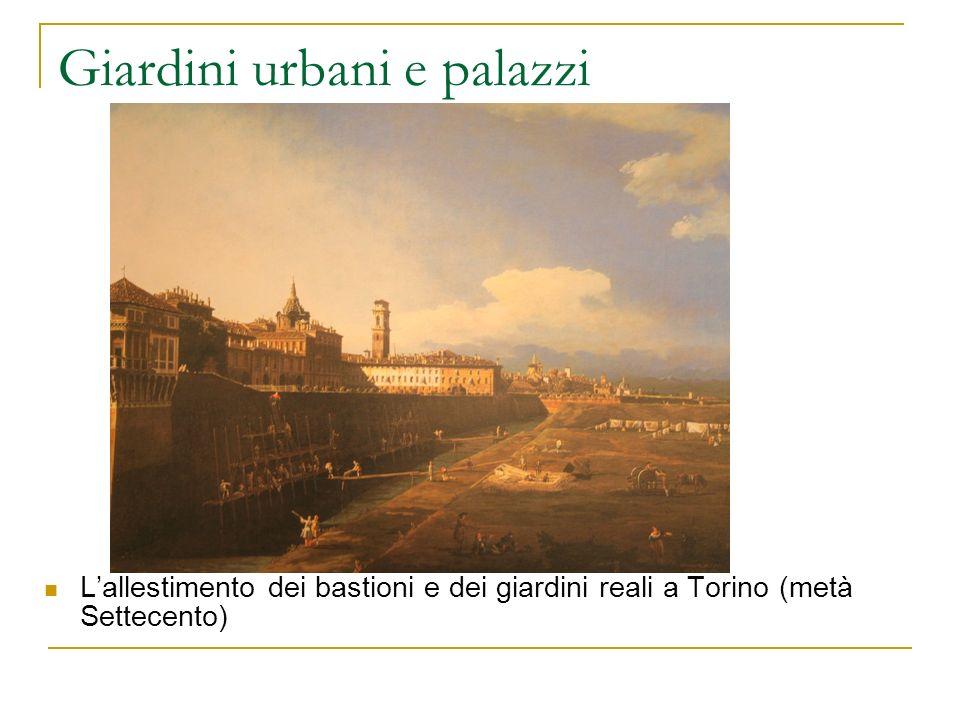 Giardini urbani e palazzi