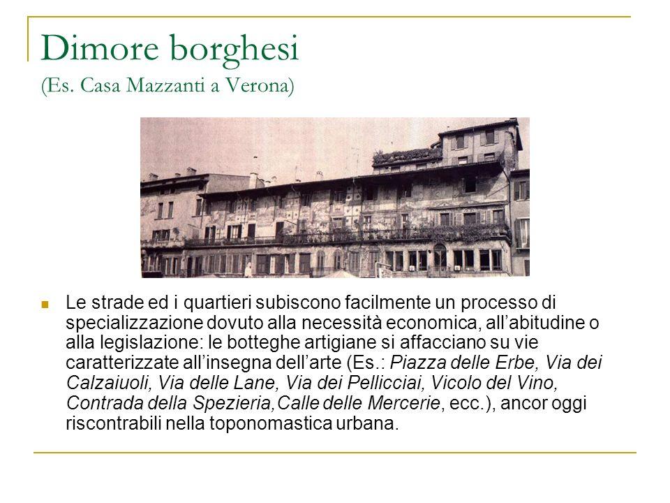 Dimore borghesi (Es. Casa Mazzanti a Verona)