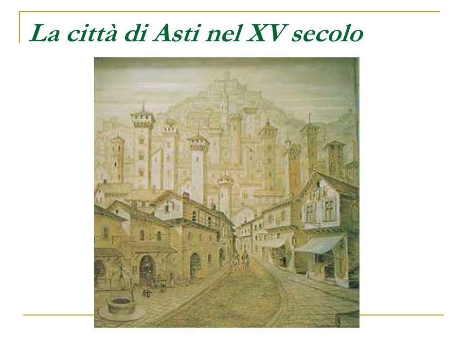 La città di Asti nel XV secolo