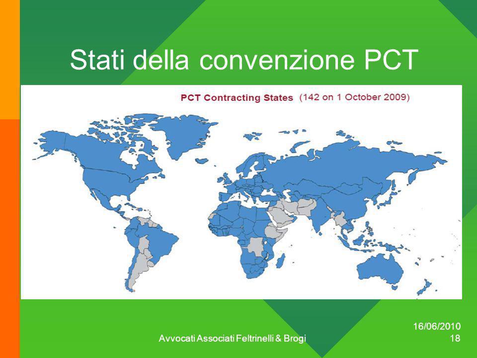 Stati della convenzione PCT