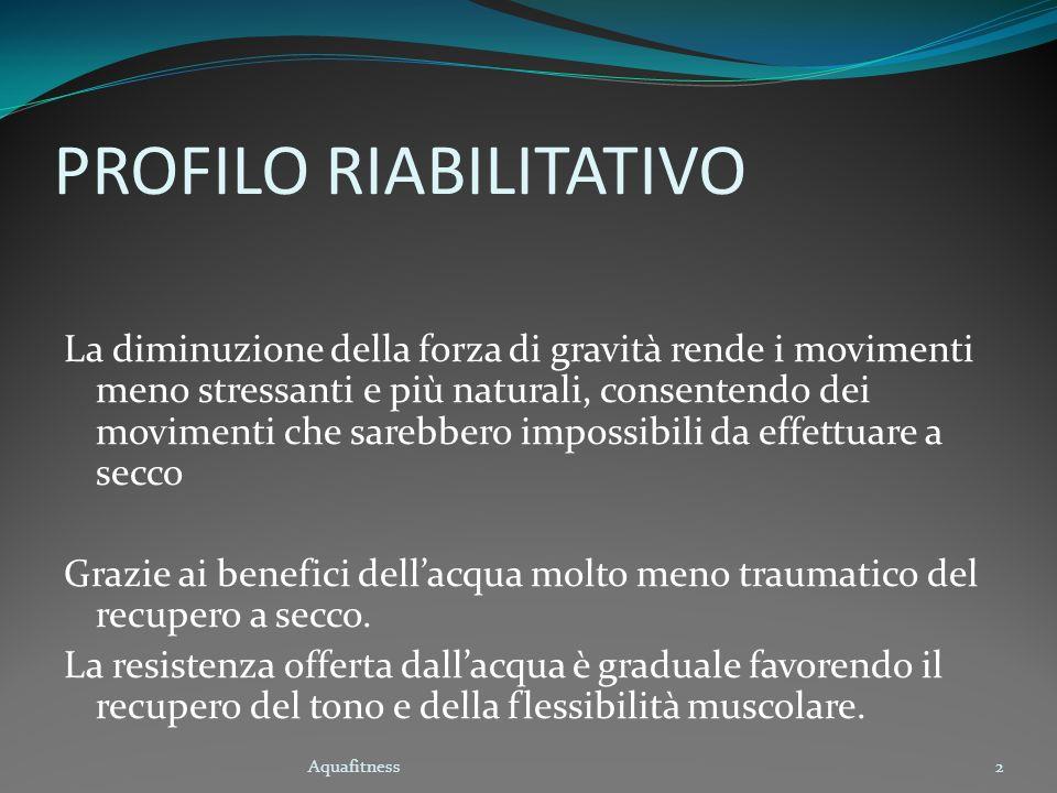 PROFILO RIABILITATIVO