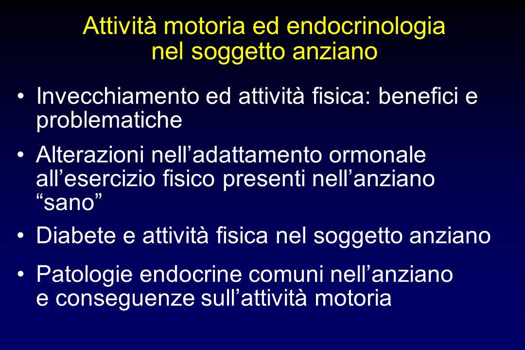 Attività motoria ed endocrinologia