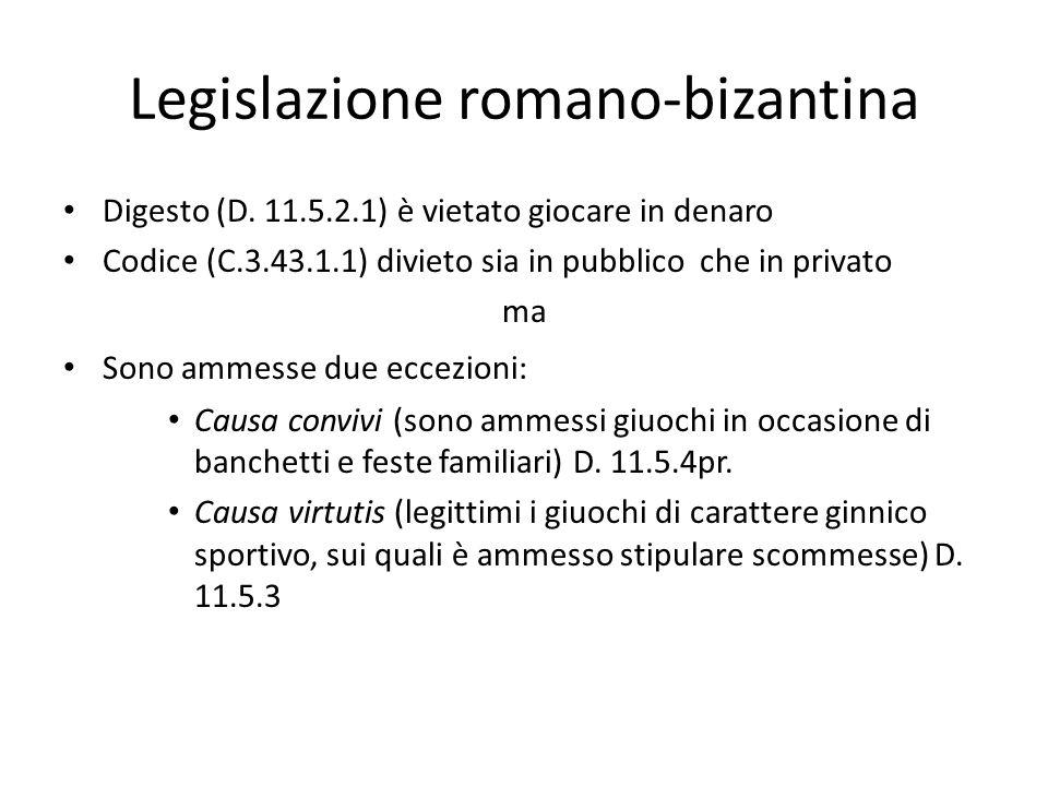 Legislazione romano-bizantina