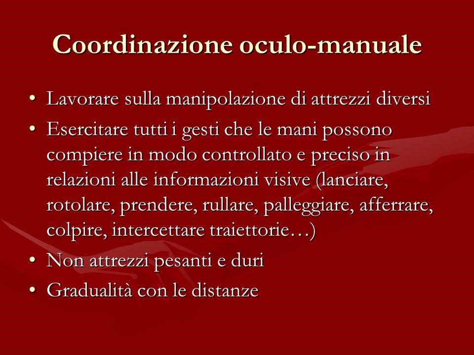 Coordinazione oculo-manuale
