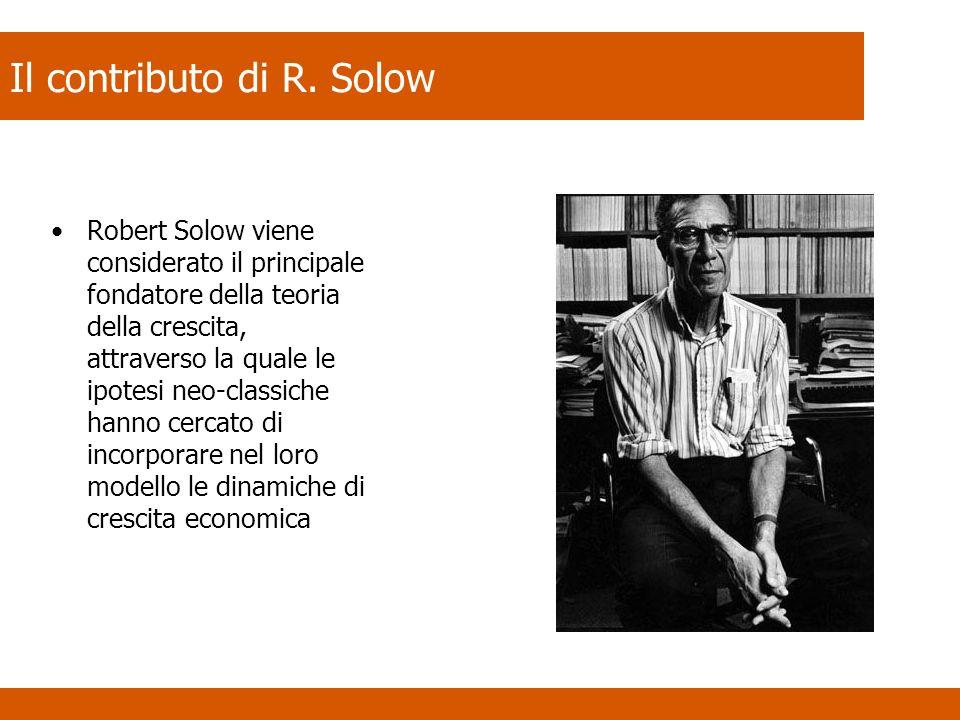 Il contributo di R. Solow