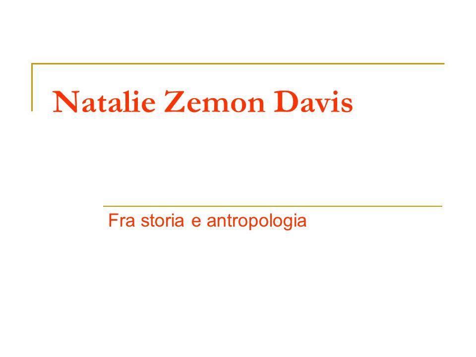 Fra storia e antropologia