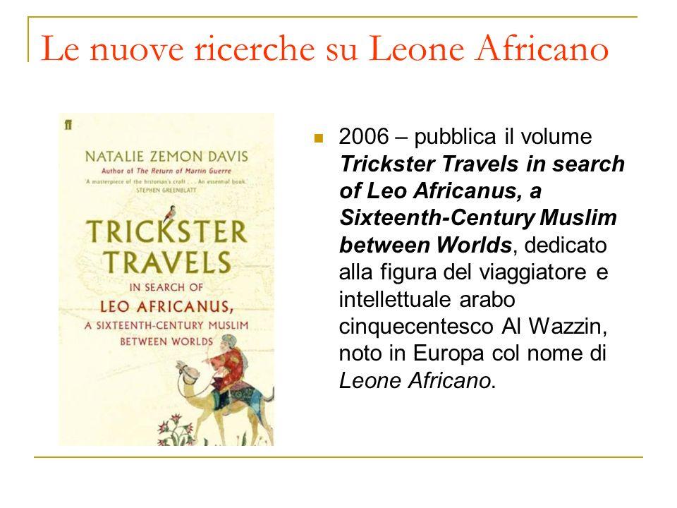 Le nuove ricerche su Leone Africano