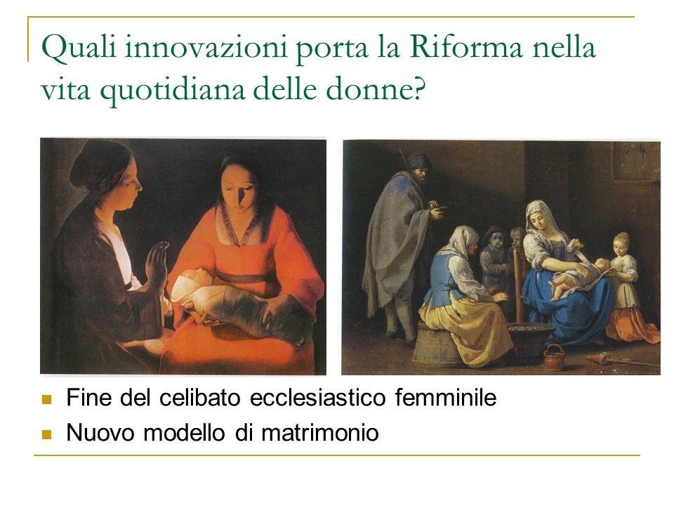 Quali innovazioni porta la Riforma nella vita quotidiana delle donne