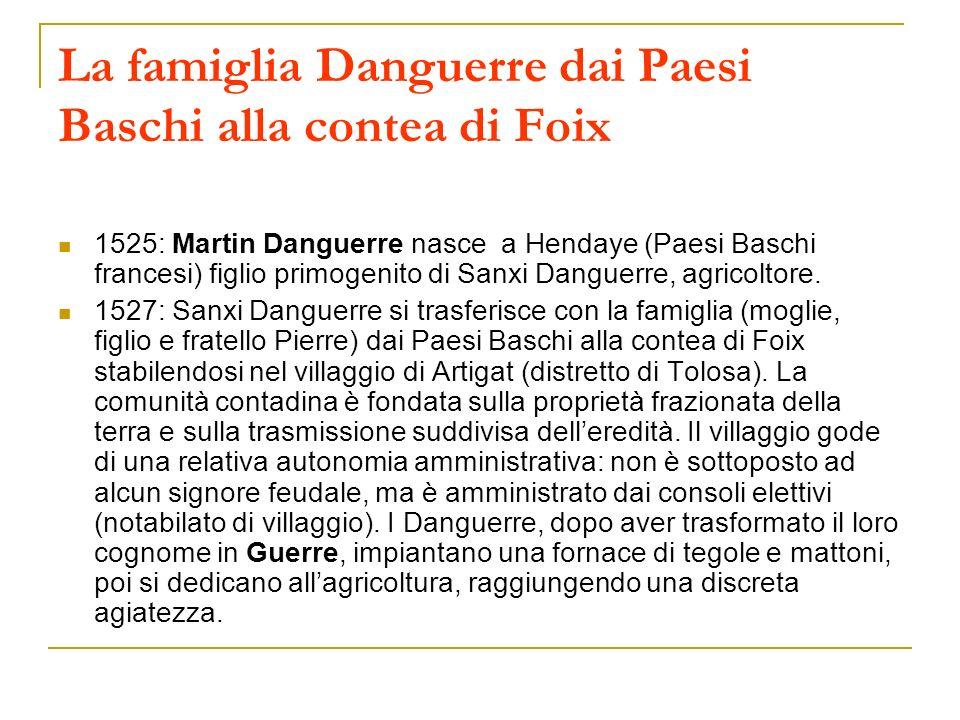 La famiglia Danguerre dai Paesi Baschi alla contea di Foix