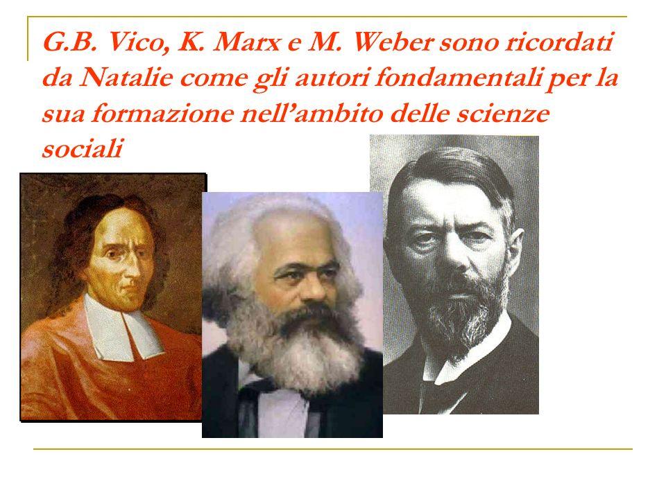 G.B. Vico, K. Marx e M.