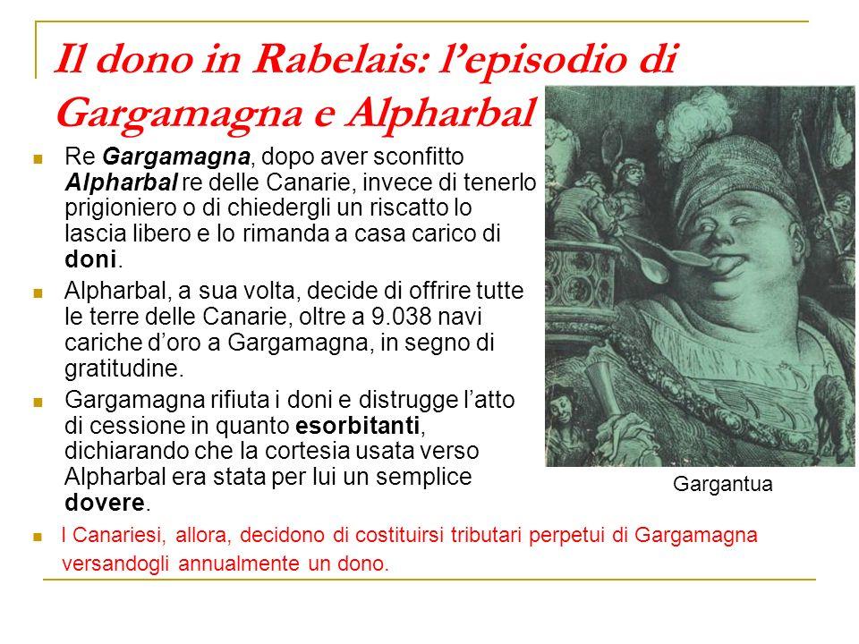 Il dono in Rabelais: l'episodio di Gargamagna e Alpharbal