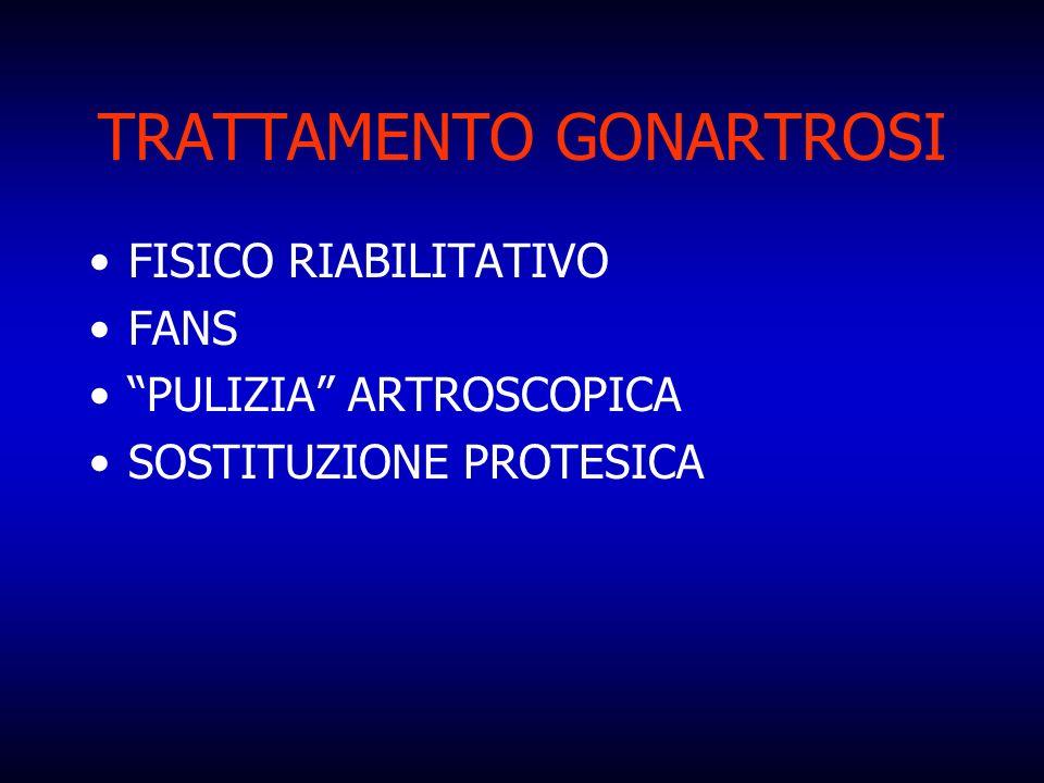 TRATTAMENTO GONARTROSI