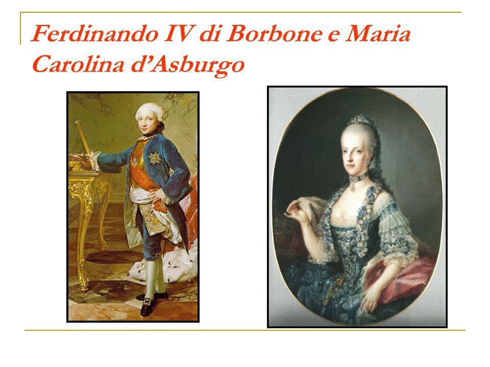 Ferdinando IV di Borbone e Maria Carolina d'Asburgo