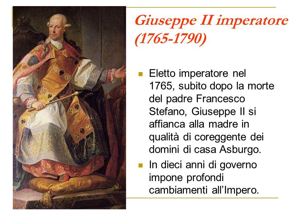 Giuseppe II imperatore (1765-1790)