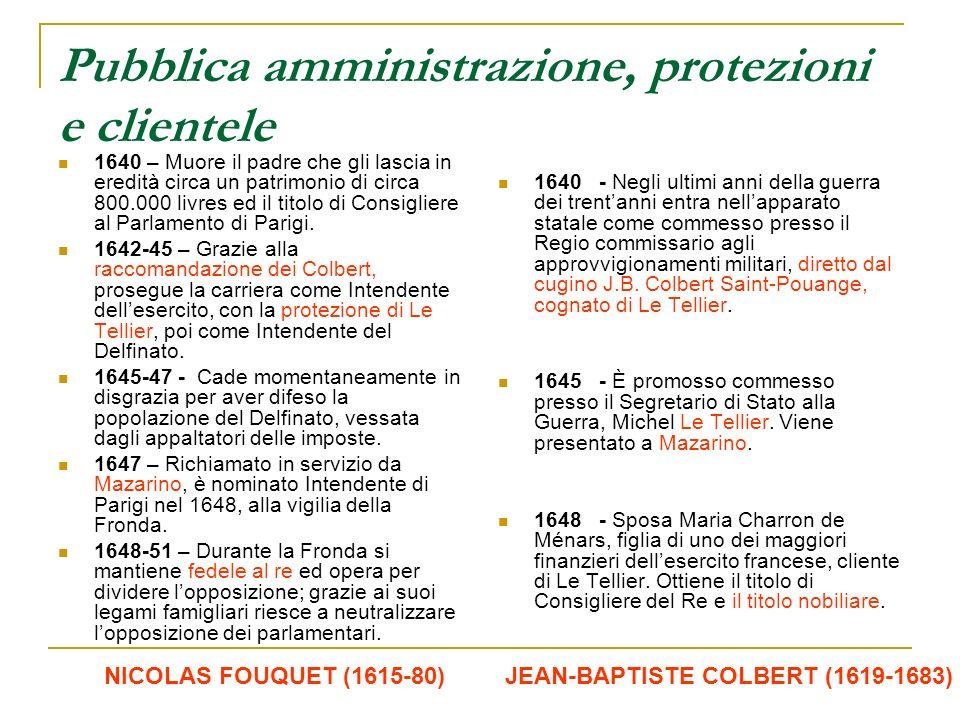 Pubblica amministrazione, protezioni e clientele