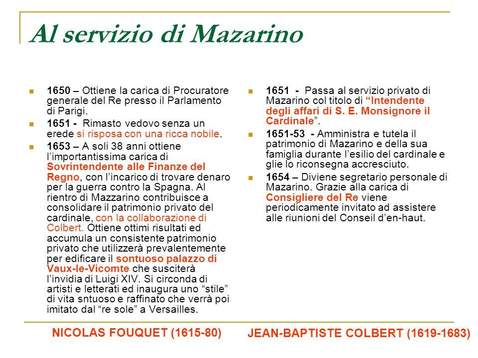 Al servizio di Mazarino