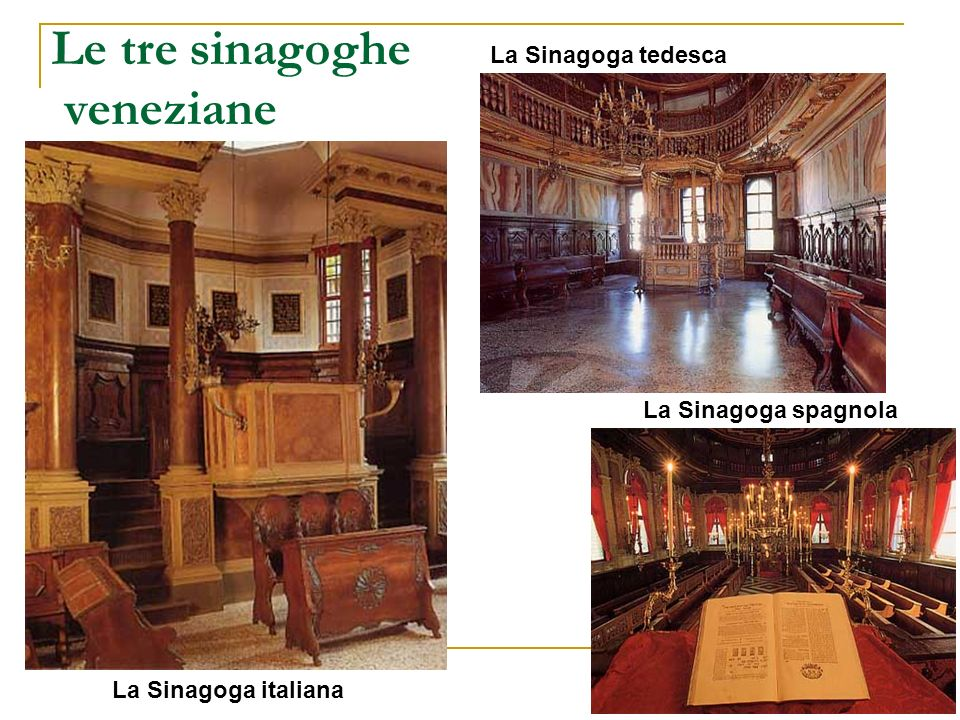 Le tre sinagoghe veneziane