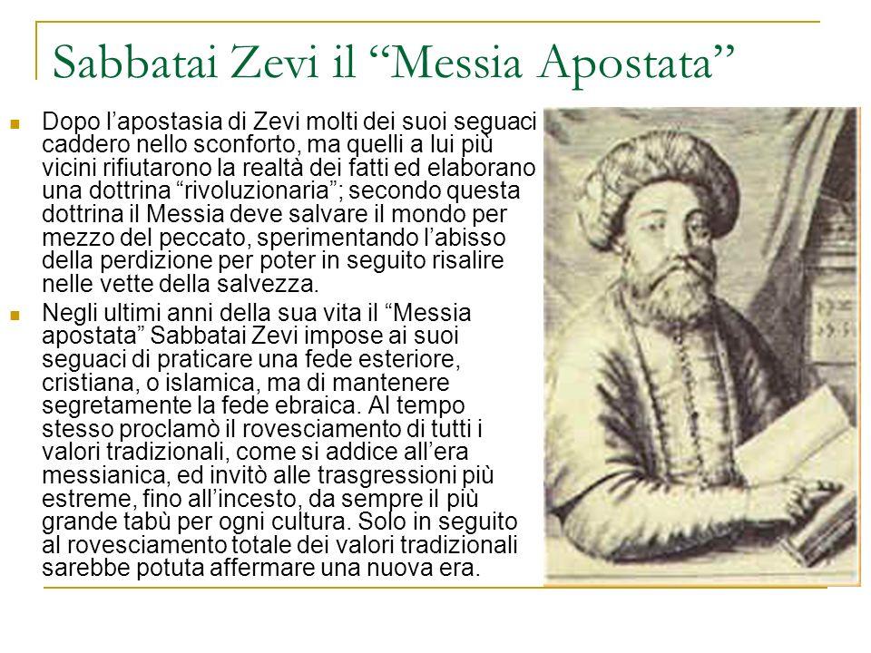 Sabbatai Zevi il Messia Apostata