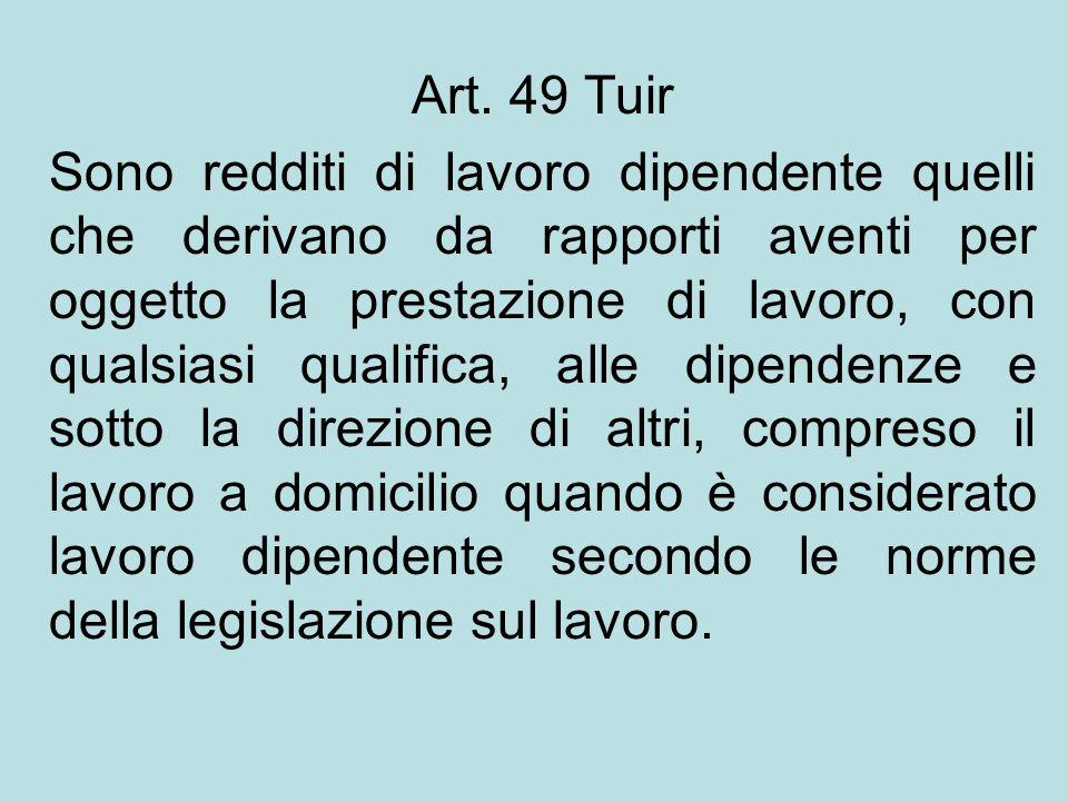 Art. 49 Tuir