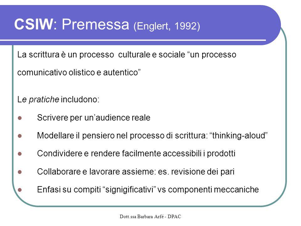CSIW: Premessa (Englert, 1992)