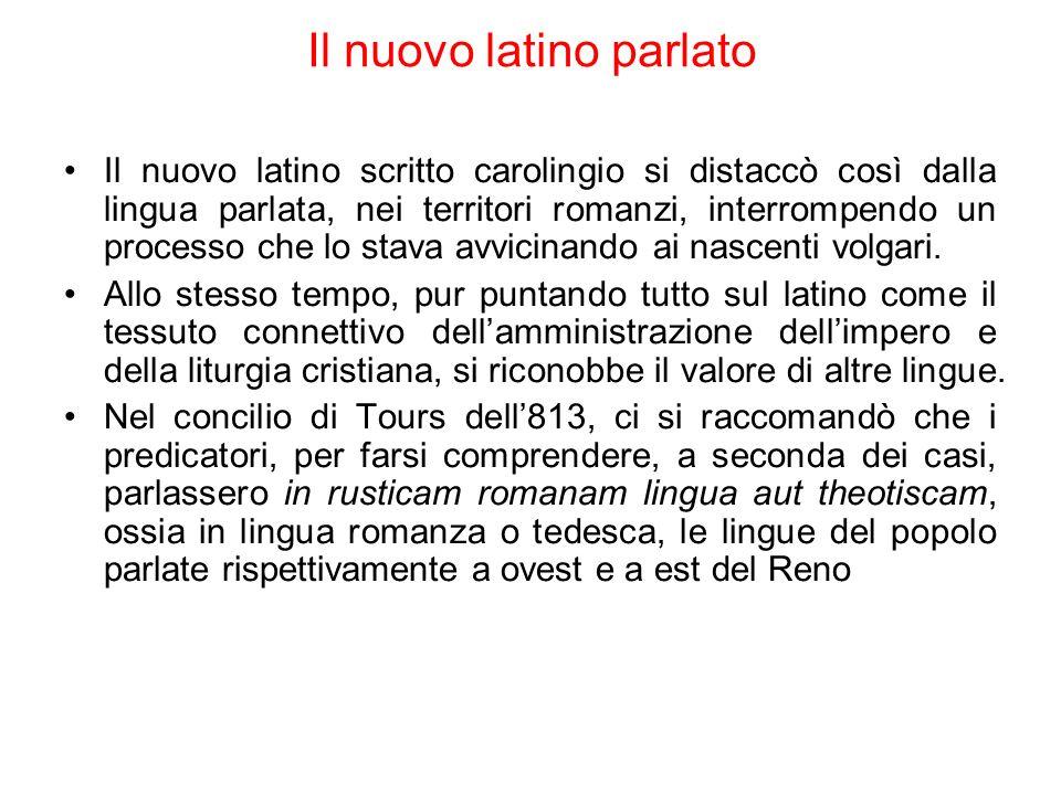 Il nuovo latino parlato