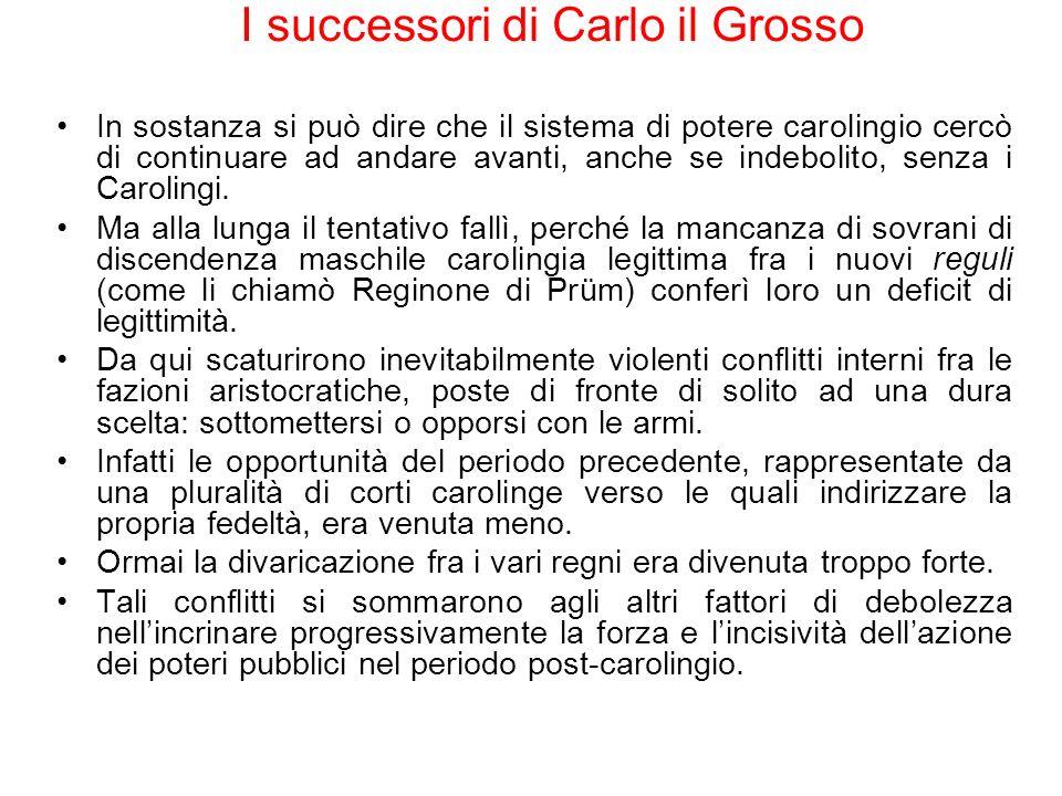 I successori di Carlo il Grosso