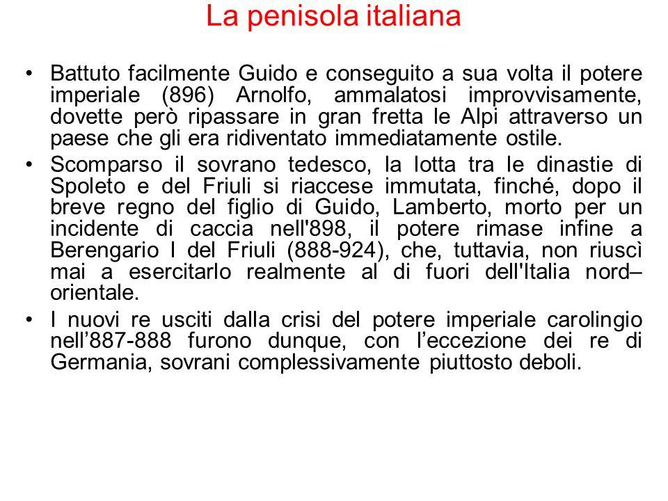 La penisola italiana