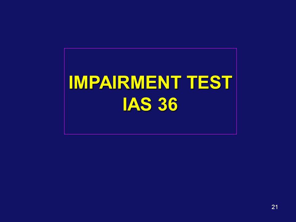 Prof.Katia Corsi 27/03/2017 IMPAIRMENT TEST IAS 36