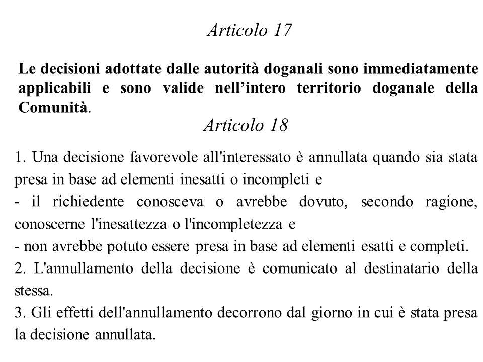 Articolo 17