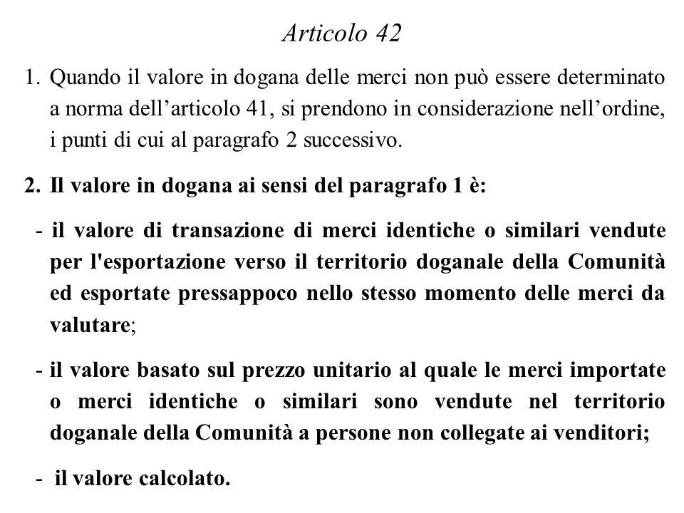 Articolo 42