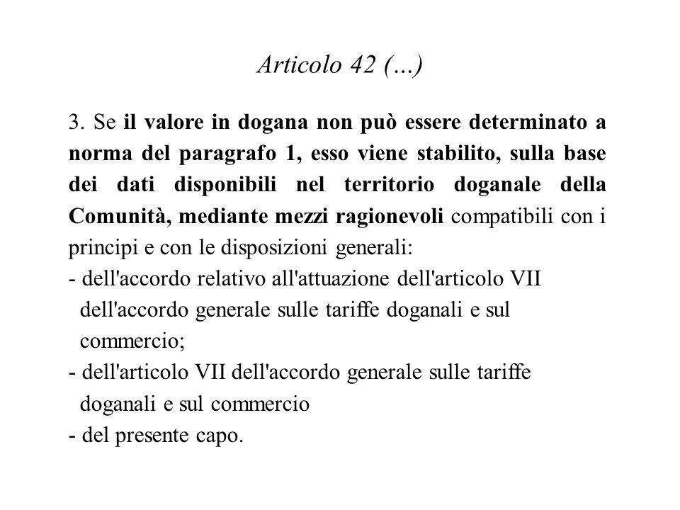 Articolo 42 (…)