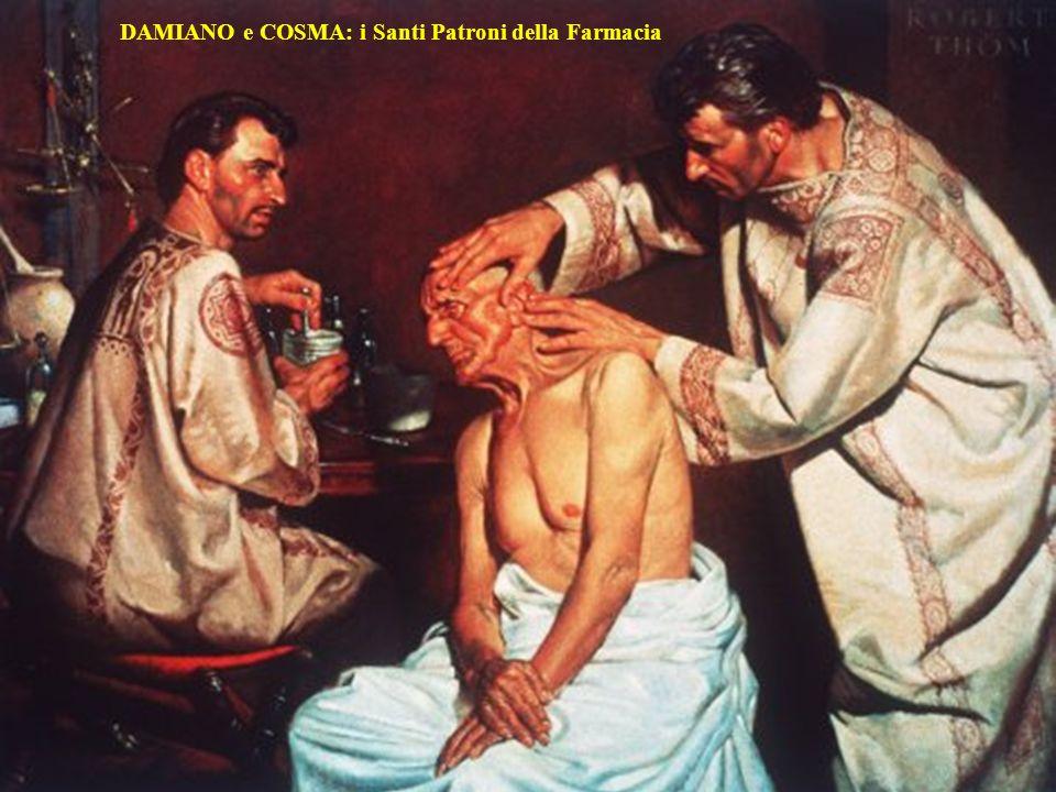 DAMIANO e COSMA: i Santi Patroni della Farmacia