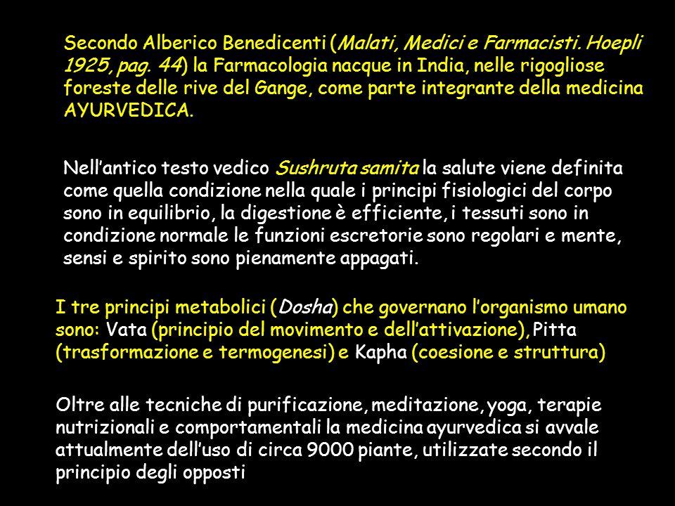 Secondo Alberico Benedicenti (Malati, Medici e Farmacisti