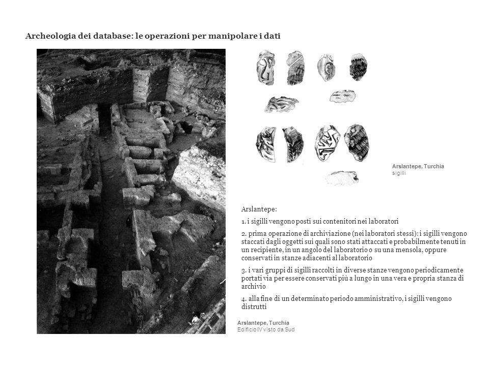 Archeologia dei database: le operazioni per manipolare i dati