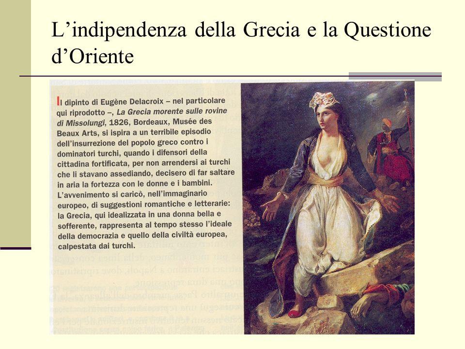 L'indipendenza della Grecia e la Questione d'Oriente