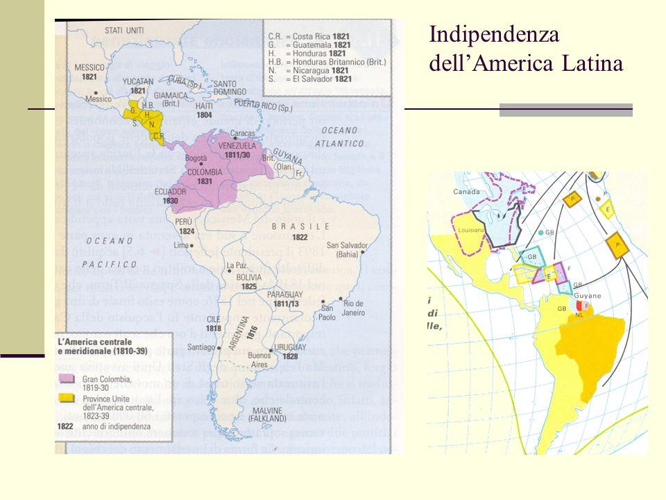 Indipendenza dell'America Latina