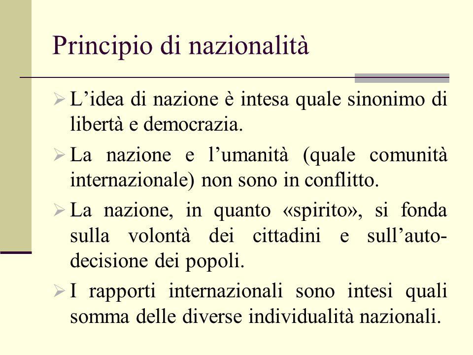 Principio di nazionalità