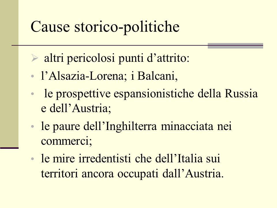 Cause storico-politiche