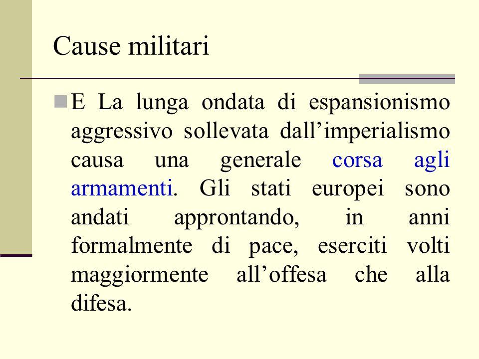 Cause militari