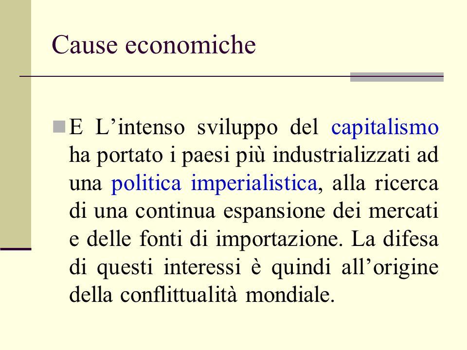 Cause economiche