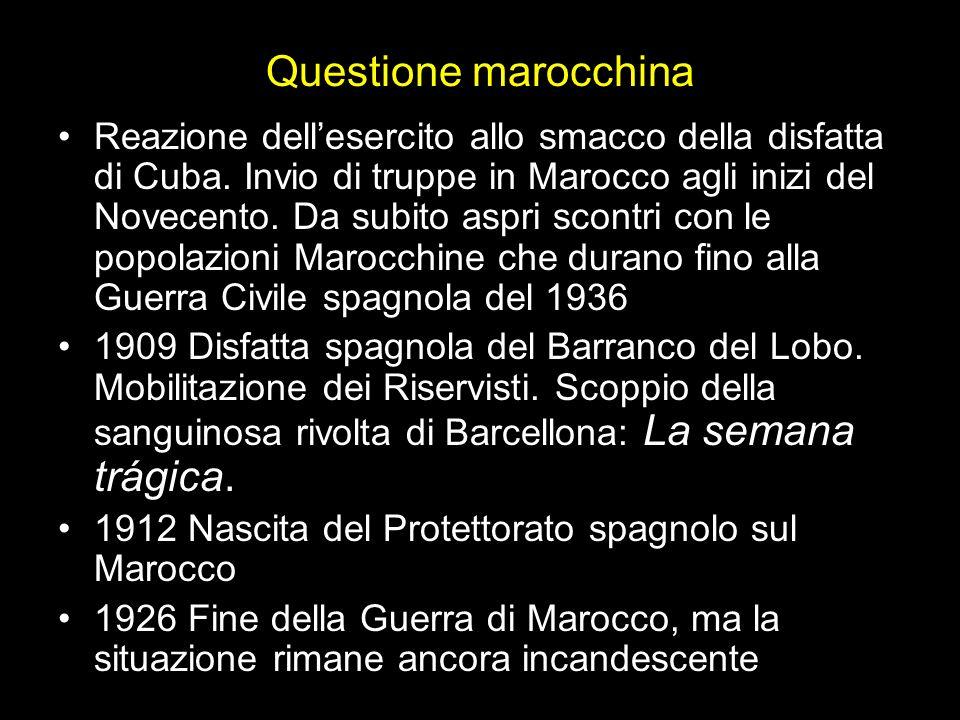 Questione marocchina