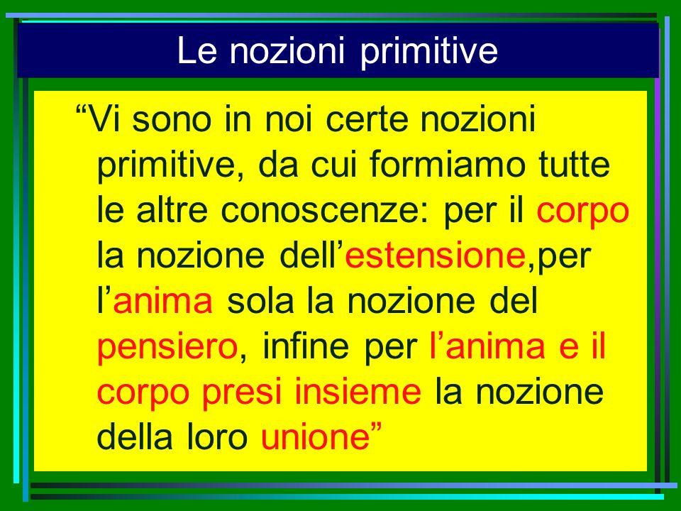 Le nozioni primitive