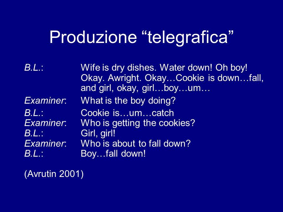 Produzione telegrafica