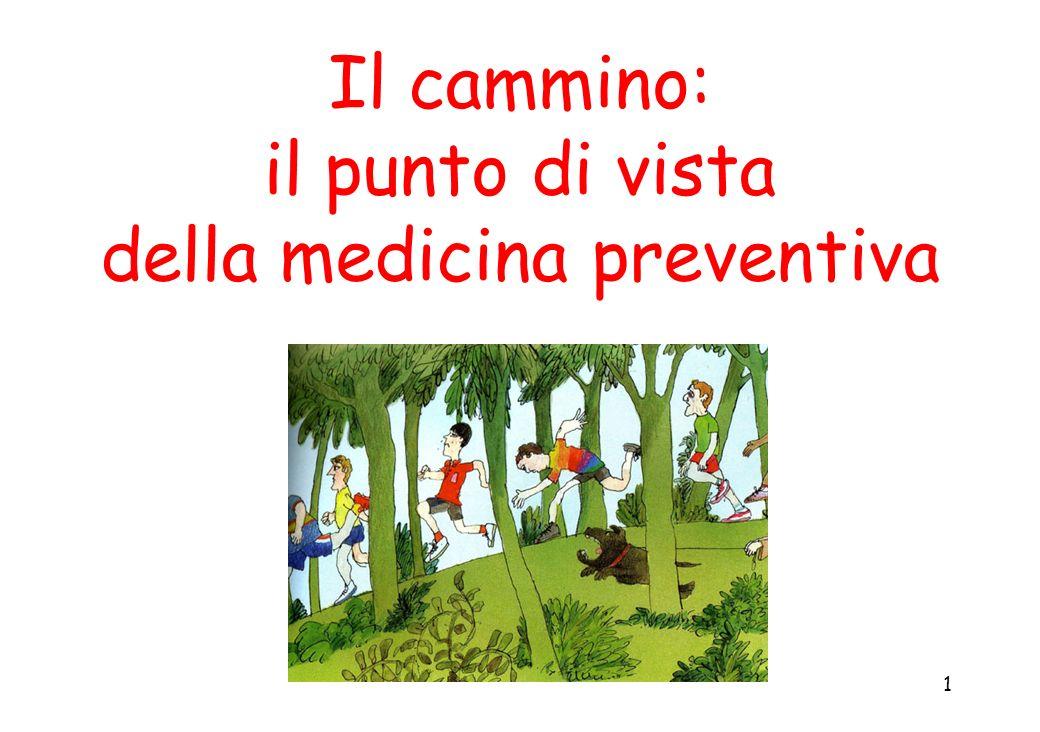 Il cammino: il punto di vista della medicina preventiva