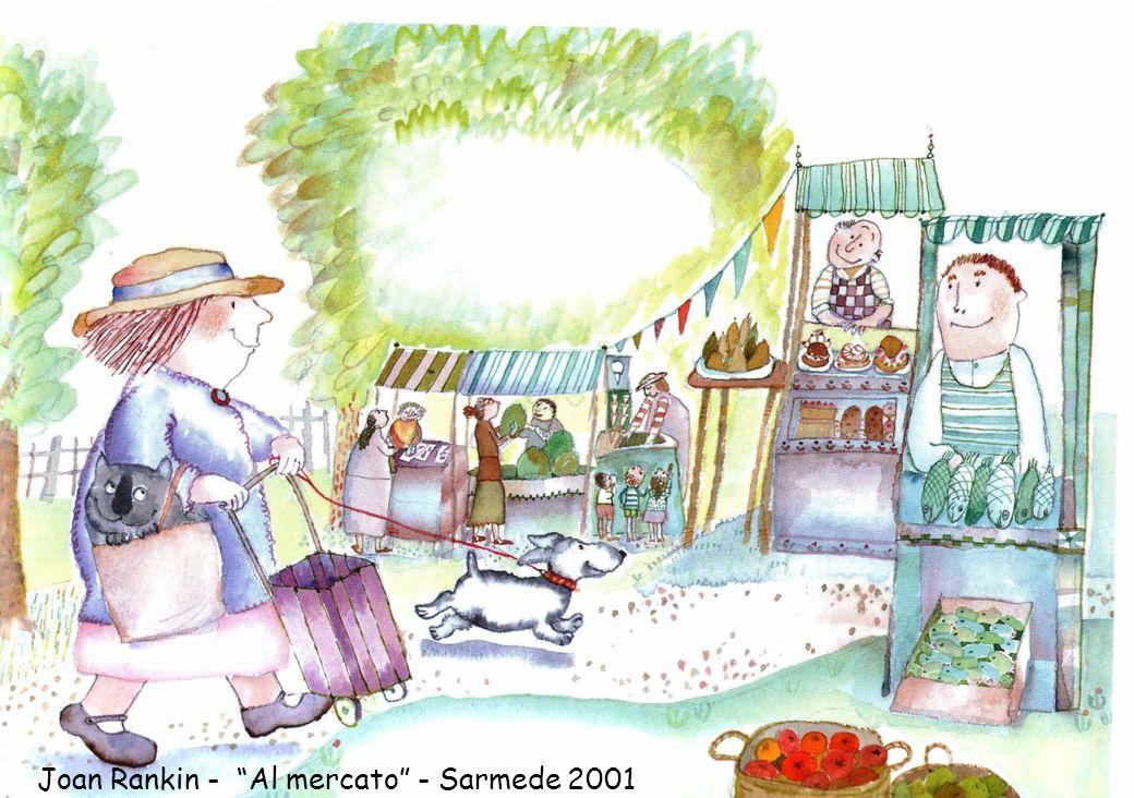 Joan Rankin - Al mercato - Sarmede 2001