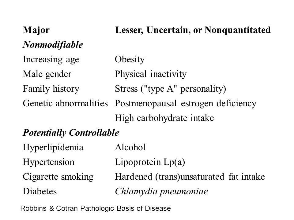 Lesser, Uncertain, or Nonquantitated