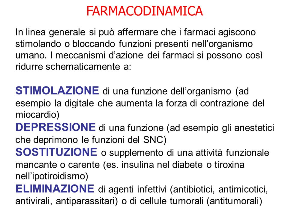 FARMACODINAMICA