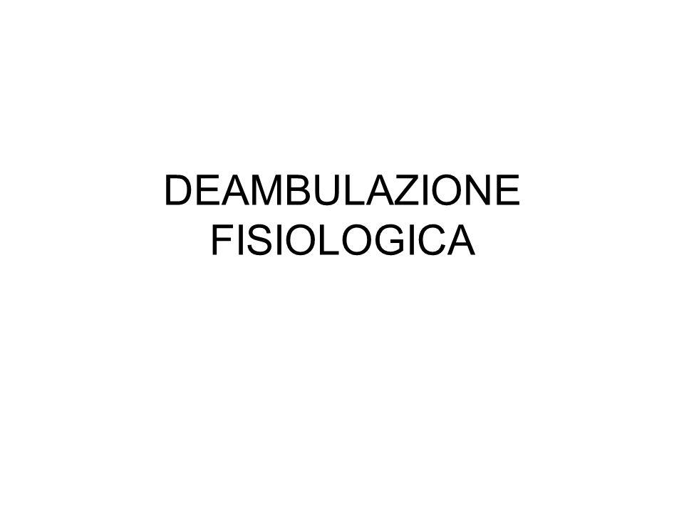 DEAMBULAZIONE FISIOLOGICA