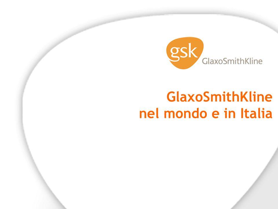 GlaxoSmithKline nel mondo e in Italia