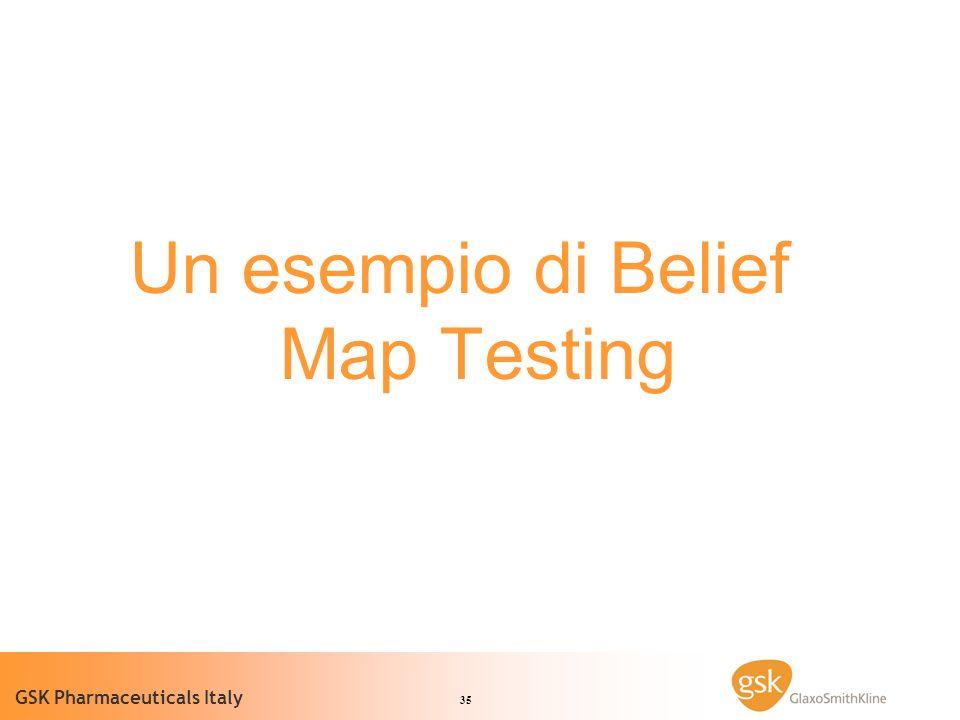 Un esempio di Belief Map Testing